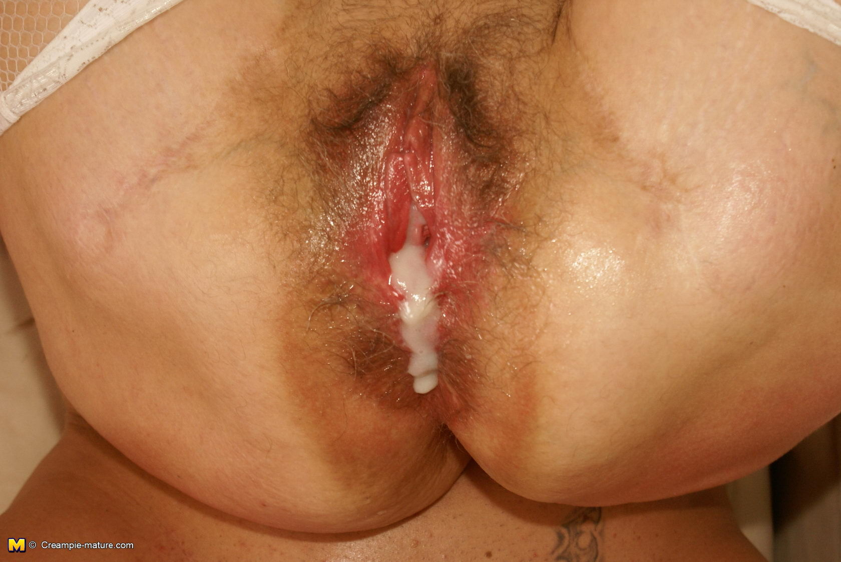 real creampie
