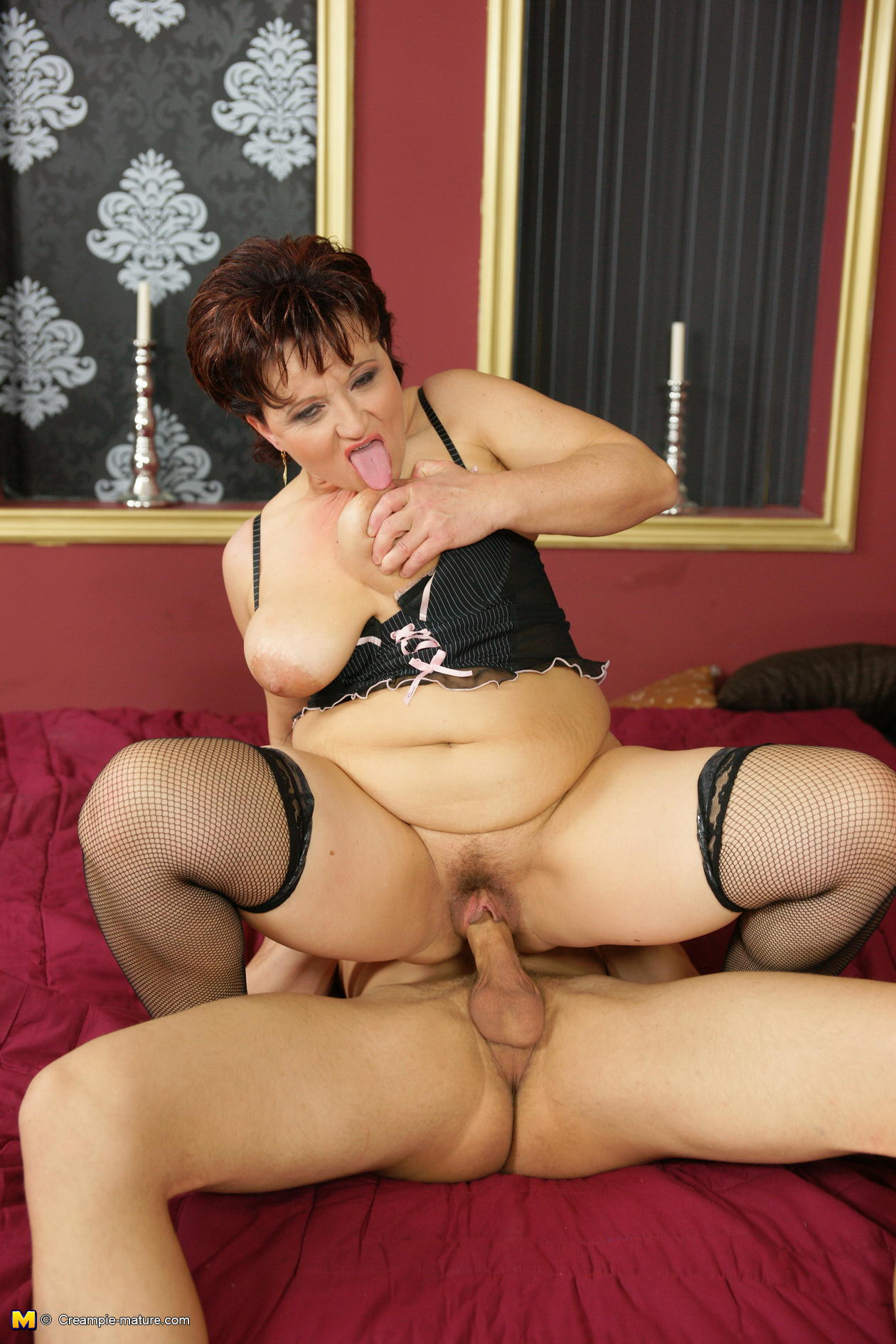 Big mama anal